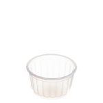 150ml (MF 151 RE) Frosted Ribbed Container